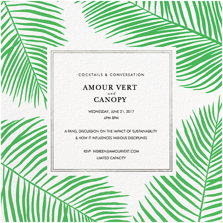 CANOPY and Amour Vert