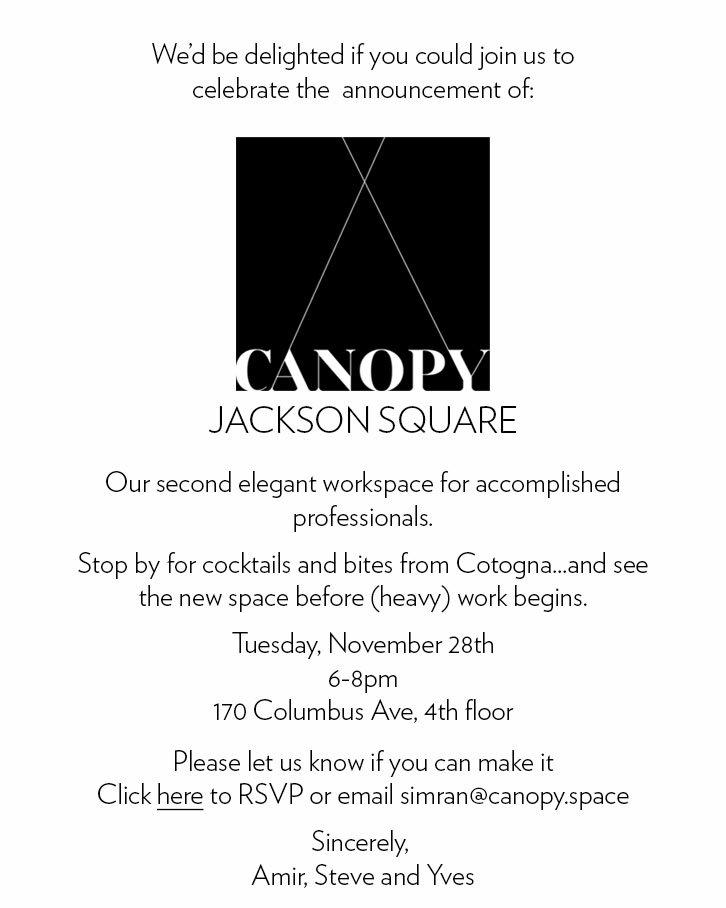 Jackson Square Announcement Party