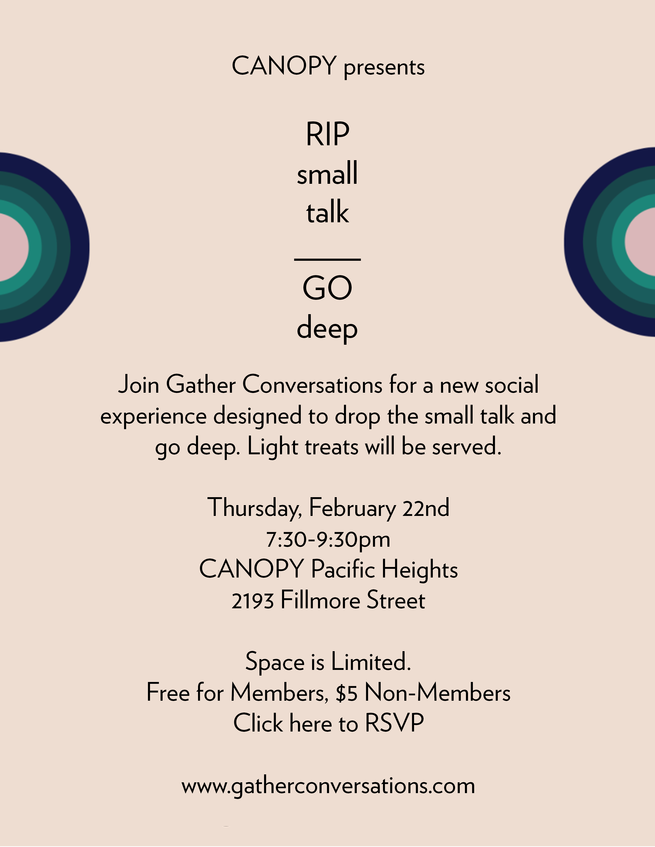 GATHER CONVERSATIONS: RIP SMALL TALK, GO DEEP