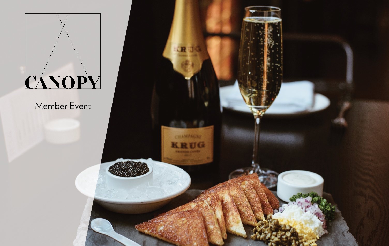MEMBER APPRECIATION: KRUG CHAMPAGNE & CAVIAR