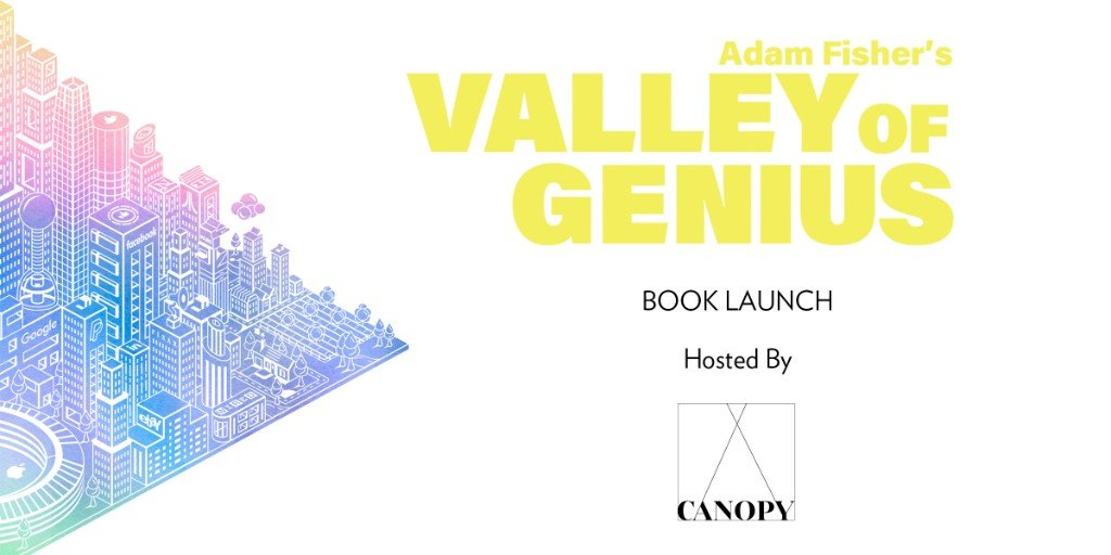 Valley of Genius Book Launch Party