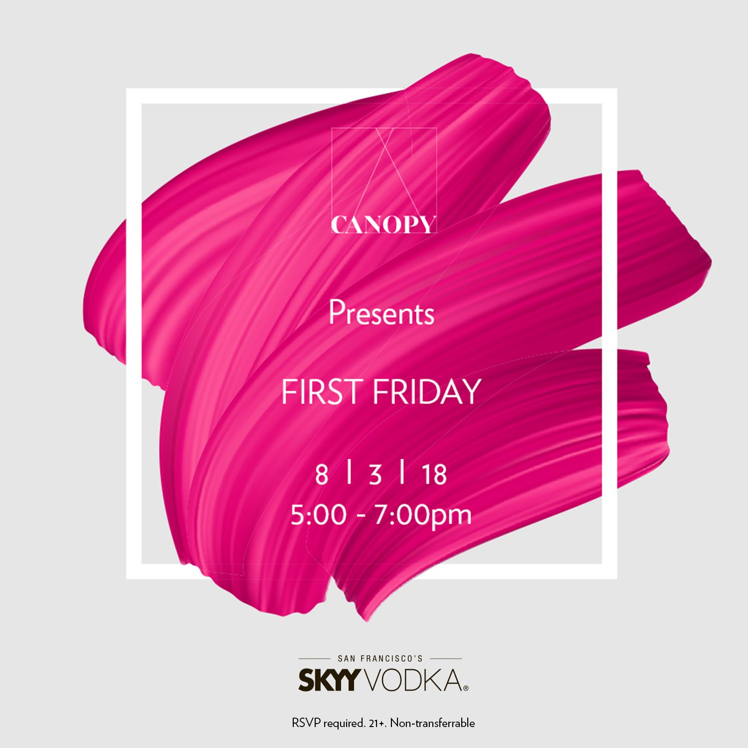 CANOPY Hosts First Friday