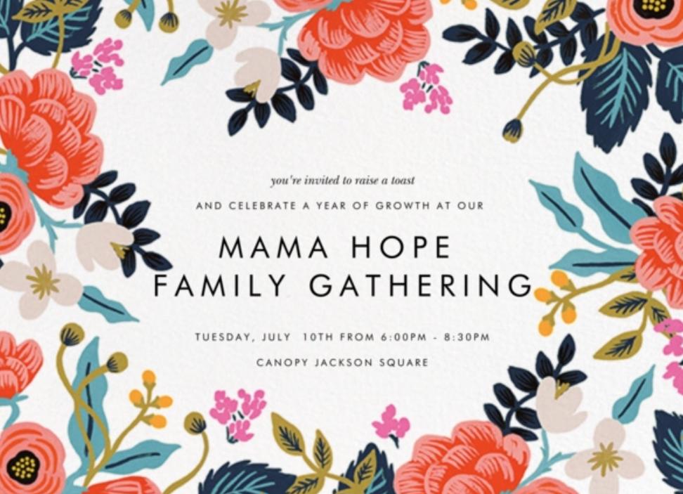 Mama Hope Gathering