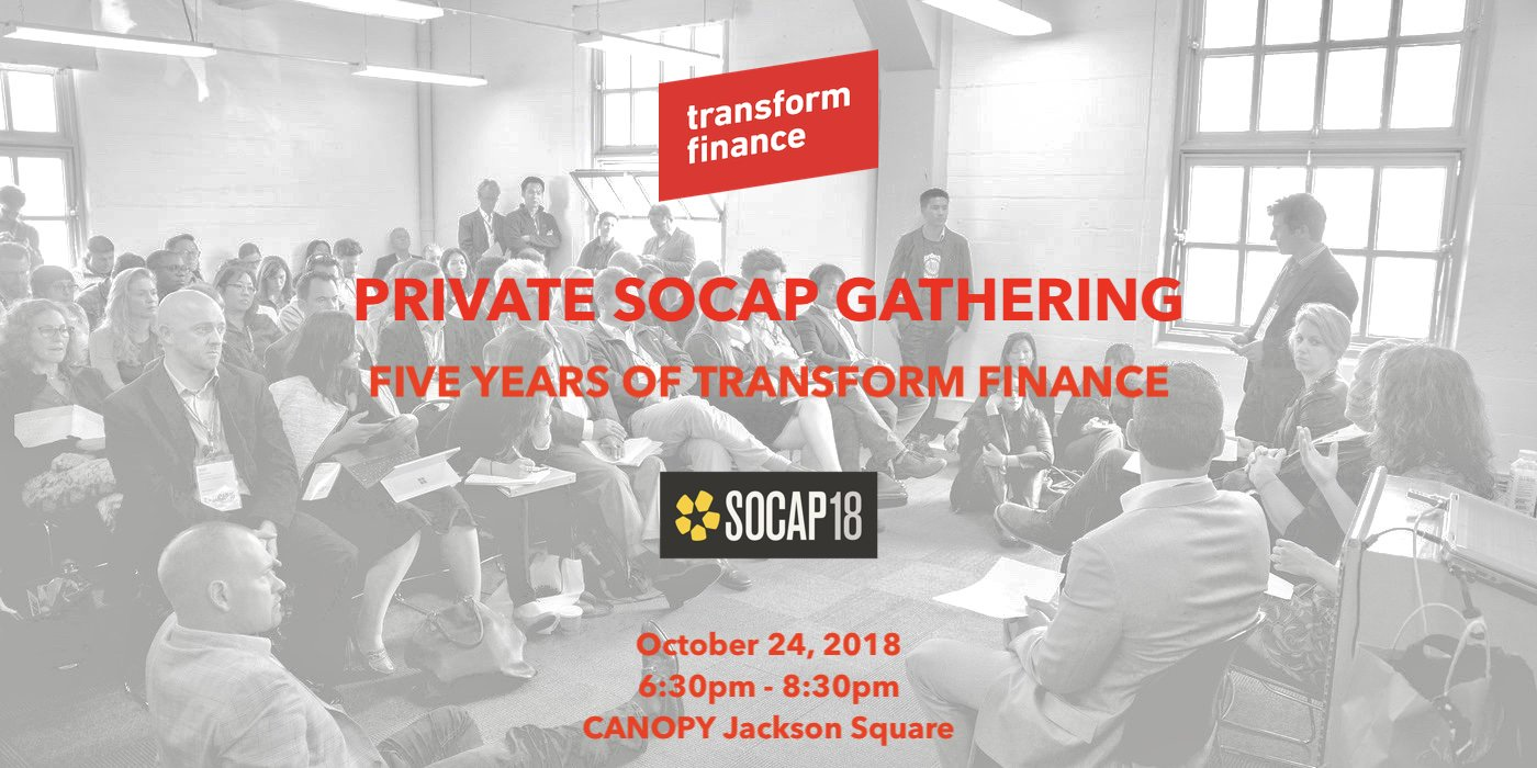Transform Finance Gathering