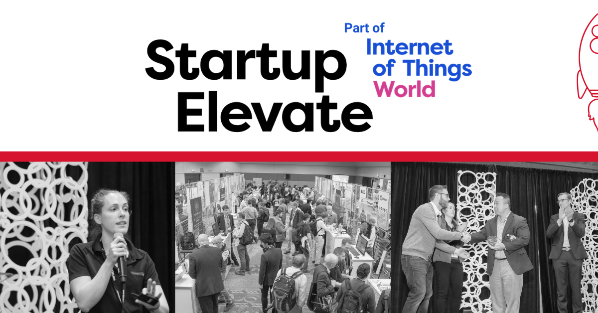 Startup Elevate at Internet of Things World