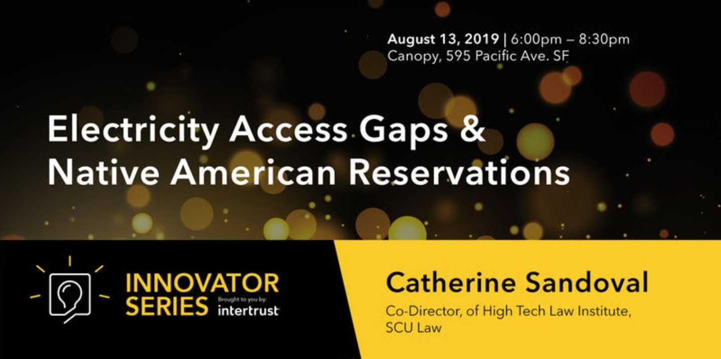 Innovator Series: Closing The Native American Reservations Electricity Access Gaps