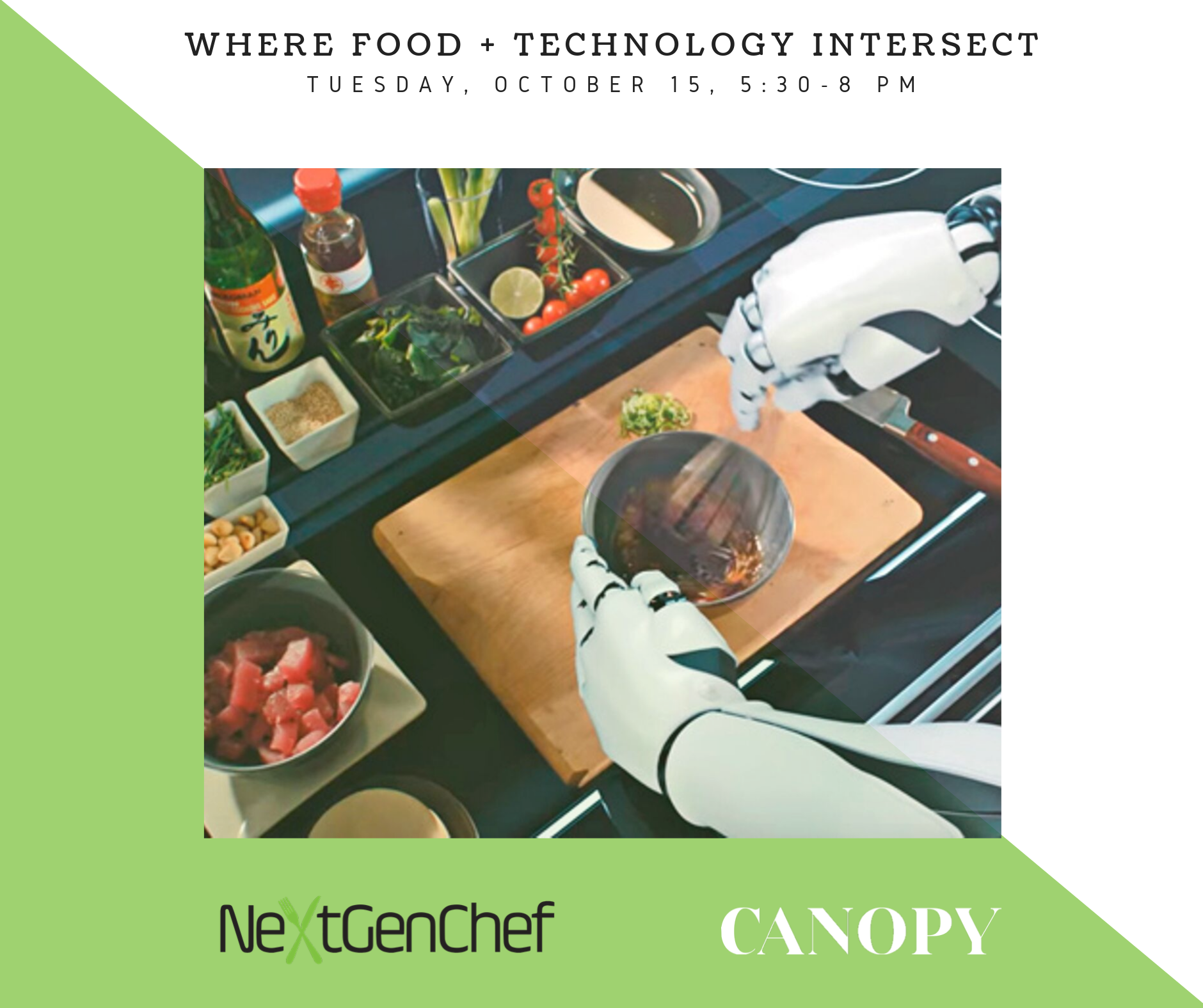 NextGenChef Talks: Where Food and Technology Intersect October Panel