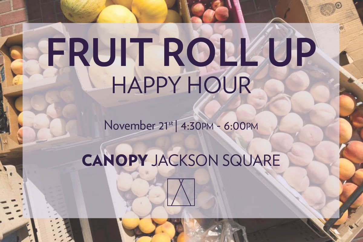 FruitRollup Happy Hour