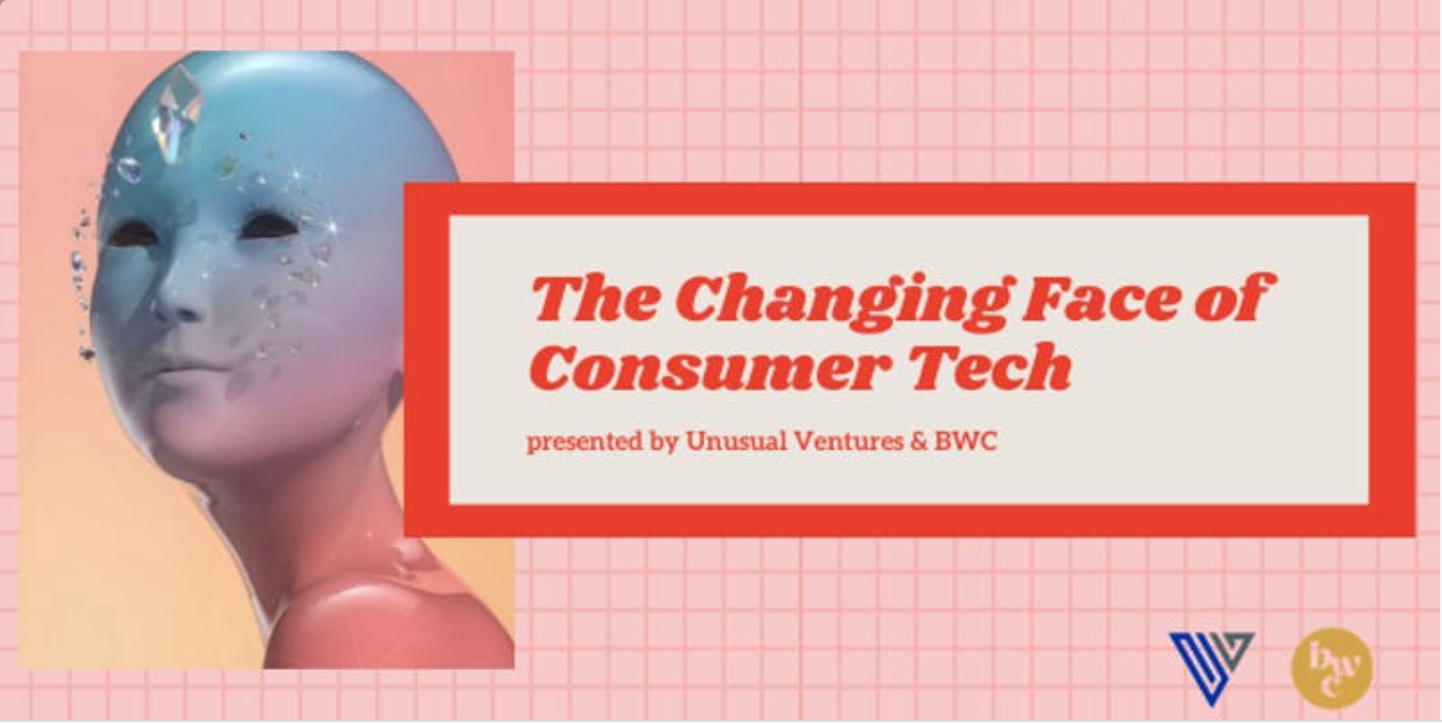 The Changing Face of Consumer Tech